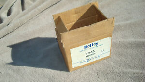 NOS Holley 70-55 USA Starter Solenoid Chevy Olds Blazer Suburban Express D984!