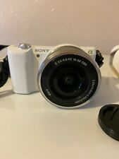 Sony alpha a5100 mirrorless camera with 16-50 mm lens