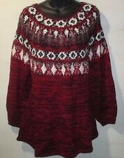 Lot of 3 Sweater 2X Plus Style&Co NWT $190 Wholesale Long A-Shaped Pull-Over Mix