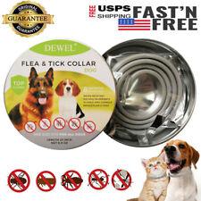 Dewel Cheaper than Seresto! Flea And Tick Control Collar Small Large Dog 8Month