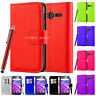 "Leather Magnetic Flip Back Alcatel Pixi 4 4"" 3g 5"" 3g 4g 6"" 3g Case Wallet Cover"