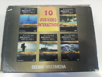 GRANDES ENIGMAS DE LA HISTORIA - COLECCION 10 X DVD VIDEO OCEANO MULTIMEDIA