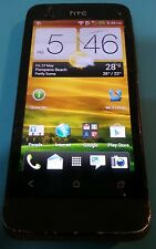 HTC One V - 4GB - Black GSM Unknown Carrier Cracked Screen