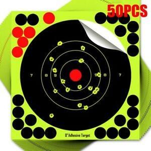Shot Rifle Target Papers Glow 8*8inch Accessories Square New Practical