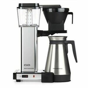 Technivorm Moccamaster 79312 KBGT Coffee Brewer 40 oz Polished Silver