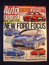 Auto Express -1308 - Ford Focus - WRX STI - Audi TT - Mini Clubman