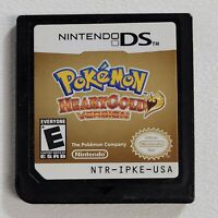 Pokemon HeartGold Heart Gold Version Nintendo DS Authentic Cartridge Game Only