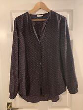 Equipment silk blouse medium