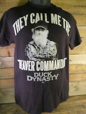 They Call Me The Beaver Commander Duck Dynasty Si T-Shirt Size M