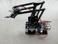 DIY Acrylic robot arm claw arduino kit 4DOF  Mechanical grab Manipulator DIY