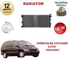 FOR CHRYSLER VOYAGER MK2 2.5 TD 1995-2001 NEW RADIATOR UNIT