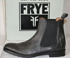FRYE 87010 Jeffrey Black Leather Chelsea Boots UK 7 BNIB