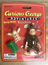 *Collectible* Curious George Adventures Key Chain ~ Basic Fun ©1998