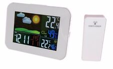Wireless Weather Station Forecast Alarm Indoor/Outdoor Thermometer Timer