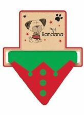 Christmas Pet Bandana ELF Design Gift Present Puppy Dog Xmas Festive Funny Dress