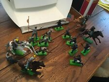 Lot of 14  BRITAINS  DEETAIL 1971 CIVIL WAR SOLDIERS