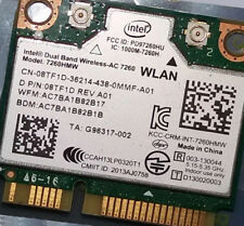 Dell Intel 8TF1D Wireless-AC 7260 Mini PCI Express Card WLAN 802.11ac 7260HMW