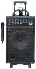Pyle-Pro 500W VHF Wireless Portable PA System with 30-Pin iPod/iPhone Dock