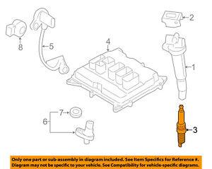 BMW OEM 12-16 328i 2.0L-L4 Ignition-Spark Plug 12120039664