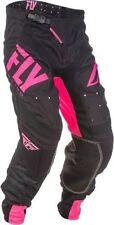 Pantalones de motocross negros Fly