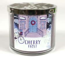 Bath & Body Works Cherry Frost Scented Candle 14.5 oz