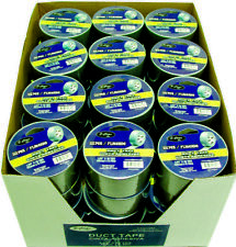 "Bulk Wholesale Case Pack 48 - Duct Tape Silver - 1.89"" x 10 yds"