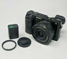 Sony Alpha A6000 24.3MP Digital Camerawith 16-50mm Lens - 17K Clicks!