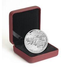 2013 $100 for $100 Fine Silver Coin - Bison Stampede