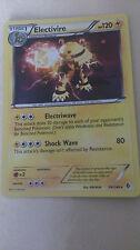 Electivire Pokemon Card HOLO RARE [BOUNDARIES CROSSED]