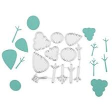Small Trees Cutting Dies Stencil Scrapbooking Embossing Album Paper Card Craft