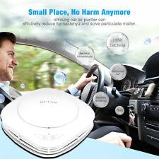 Car Fresh Air Purifier Ionic HEPA Filter Smoke Odor Ionizer Cleaner Freshener US