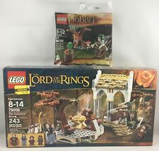 79006 LEGO LORD OF RINGS COUNCIL OF ELROND + 30212 MIRKWOOD ELF POLYBAG SEALED