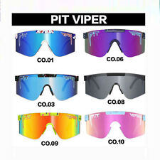 Pit Viper Sport Google TR90 Polarized Sunglasses Original Men Women Outdoor AU77