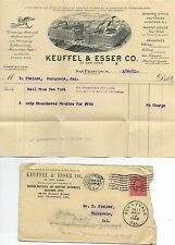 1911 Advertising Cover and Graphic BIllhead Keuffel & Esser Surveying SF CA