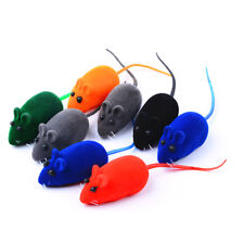 Cute 2 PCS Mouse Squeak Sound Funny Rat Playing Toy For Cat Kitten Pet Play Toys