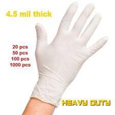 Disposable Latex Gloves Heavy Duty 45 Mil Powder Free