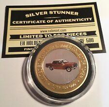 EH Holden Colour Silver Stunner Coin/Token C.O.A. LTD 500 (Slight Damage) Gift