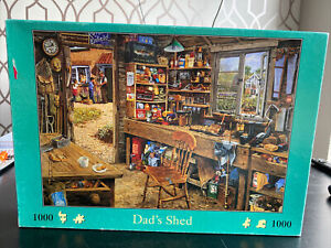 House of Puzzles 1000 piece jigsaw puzzle - Dad's Shed 🧩