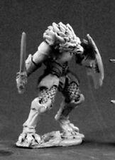 Half Dragon Reaper Miniatures Dark Heaven Legends RPG Dragonman Warrior Fighter
