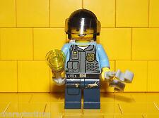 Lego City Policeman / Cop Type 4 Minifigure NEW