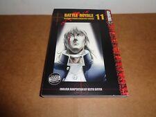 Battle Royale Vol. 11 by Koushun Takami Manga Book in English