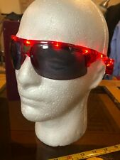 Light Up LED Novelty Glasses Shades Red New Sunglasses Eagle Motif