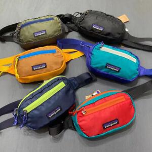 Patagonia Ultralight Black Hole Hip Pack 1L Crossbody Waist Bag Multicolor Mens