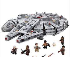 """Star Wars Millennium Falcon """"Lego Compatibile"""" - 75105 05007 - 1381 pezzi"""