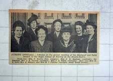 1949 Nursing Officials Blackpool Fylde, Miss Mackin Miss Astle Mrs Hamlett