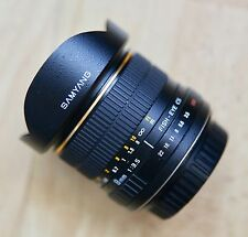 Samyang 8mm F/3.5 FISH-EYE CS lente per Canon