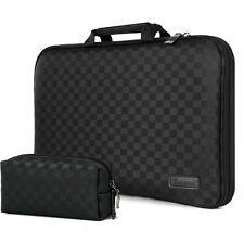 Laptop Case Sleeve Memory Foam Bag Checked Black for New  MacBook Air 11