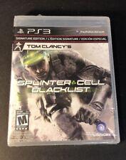 Tom Clancy's Splinter Cell Blacklist [ Signature Edition ] (PS3) NEW