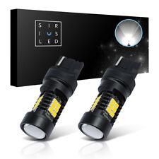 SiriusLED 7440 992 LED Tail Back Up Light WHITE Dual Brightness 600 Lumens 2Pack