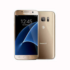 Unlocked Samsung Galaxy S7 SM-G930A  32GB Gold Platinum (AT&T, T-Mobile) Phone